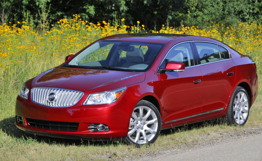 Buick LaCrosse red #3