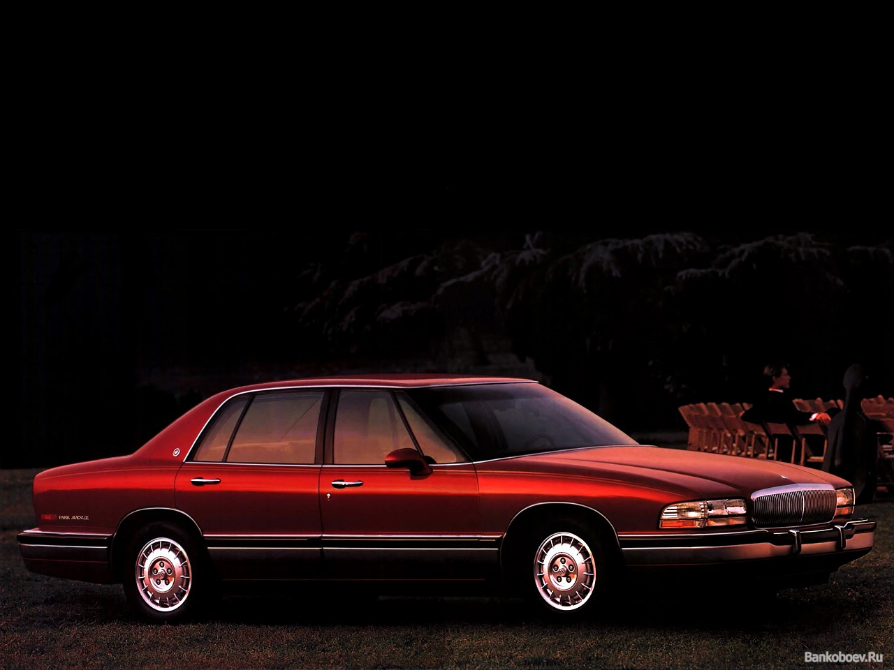 Buick Park Avenue red #1