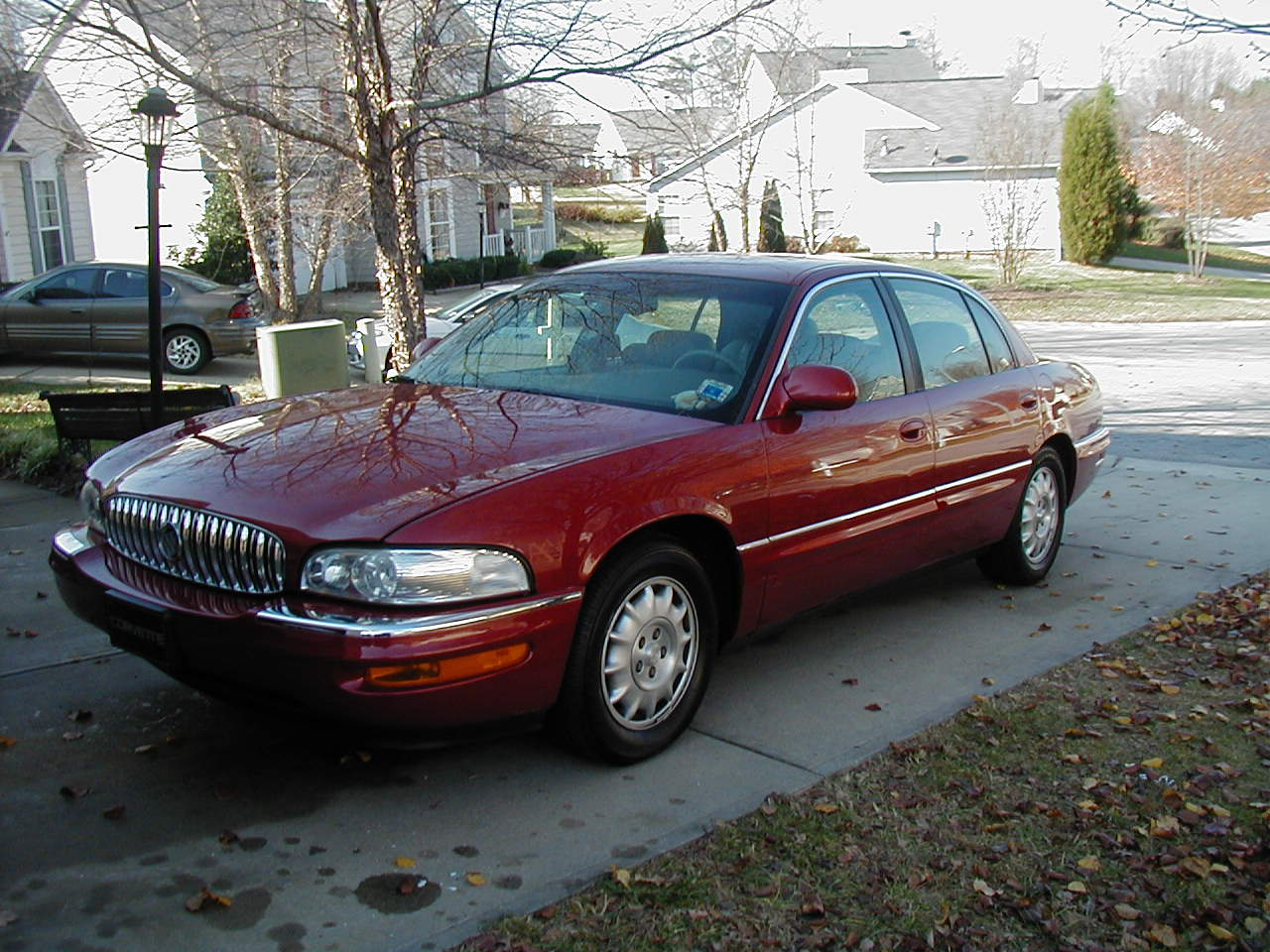 Buick Park Avenue red #3