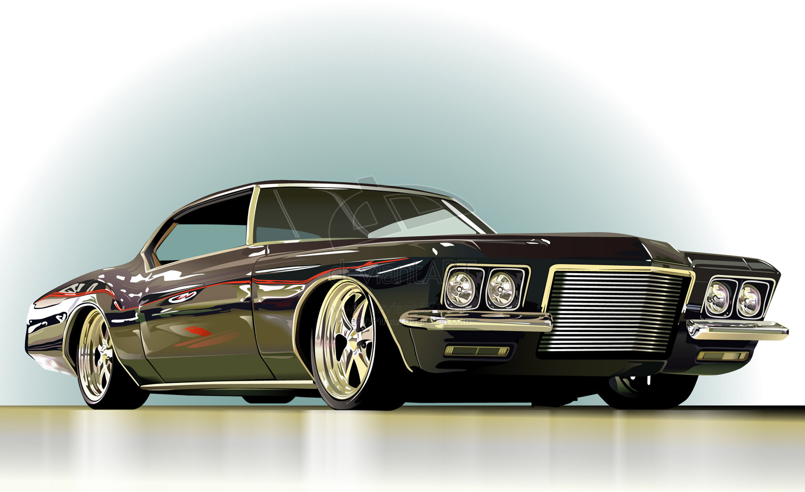 Buick Riviera red #2