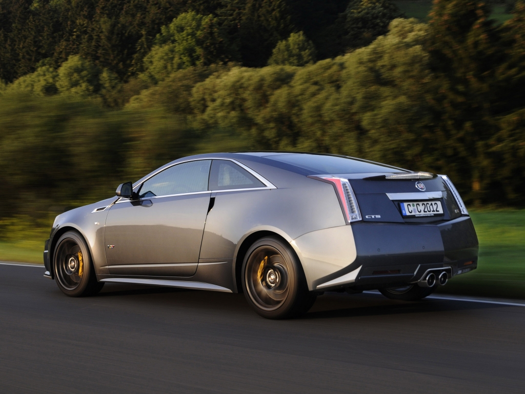 Cadillac ATS Coupe black #2