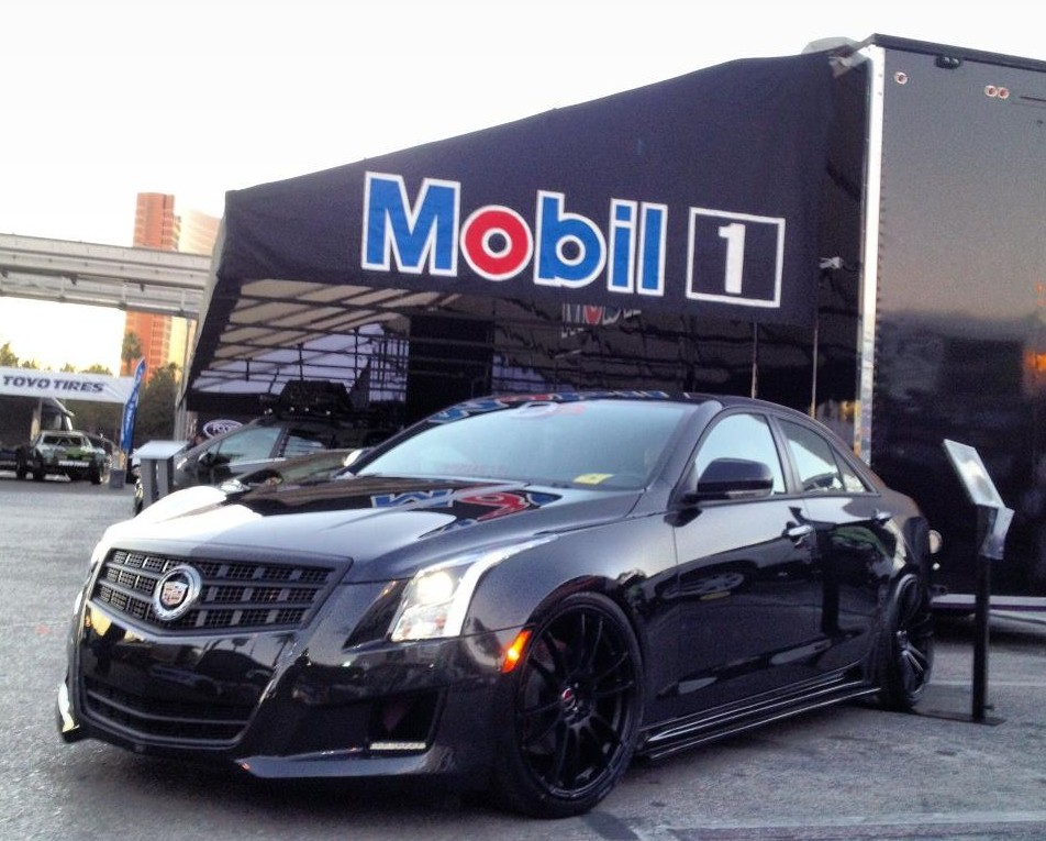 Cadillac ATS Coupe black #3