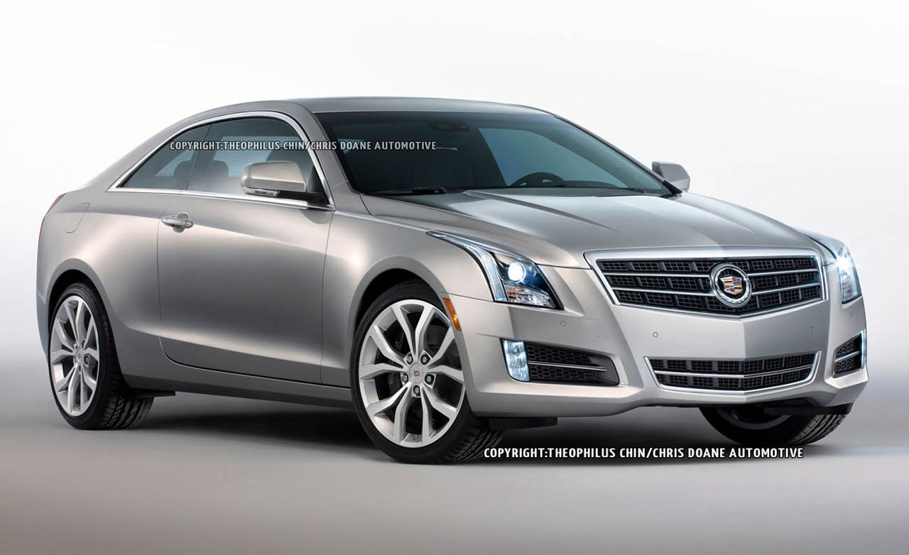 Cadillac ATS Coupe interior #1