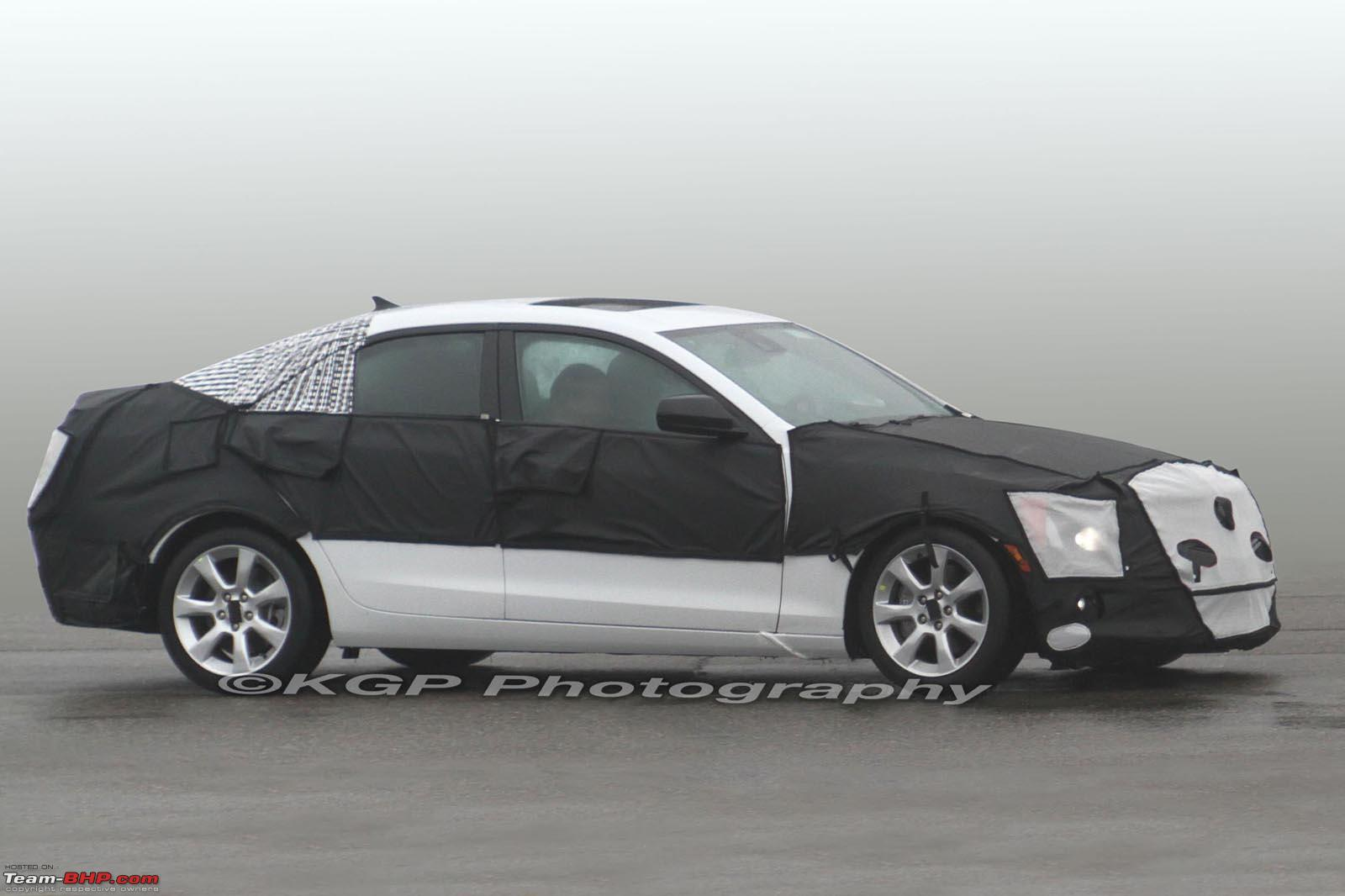 Cadillac ATS Coupe white #2