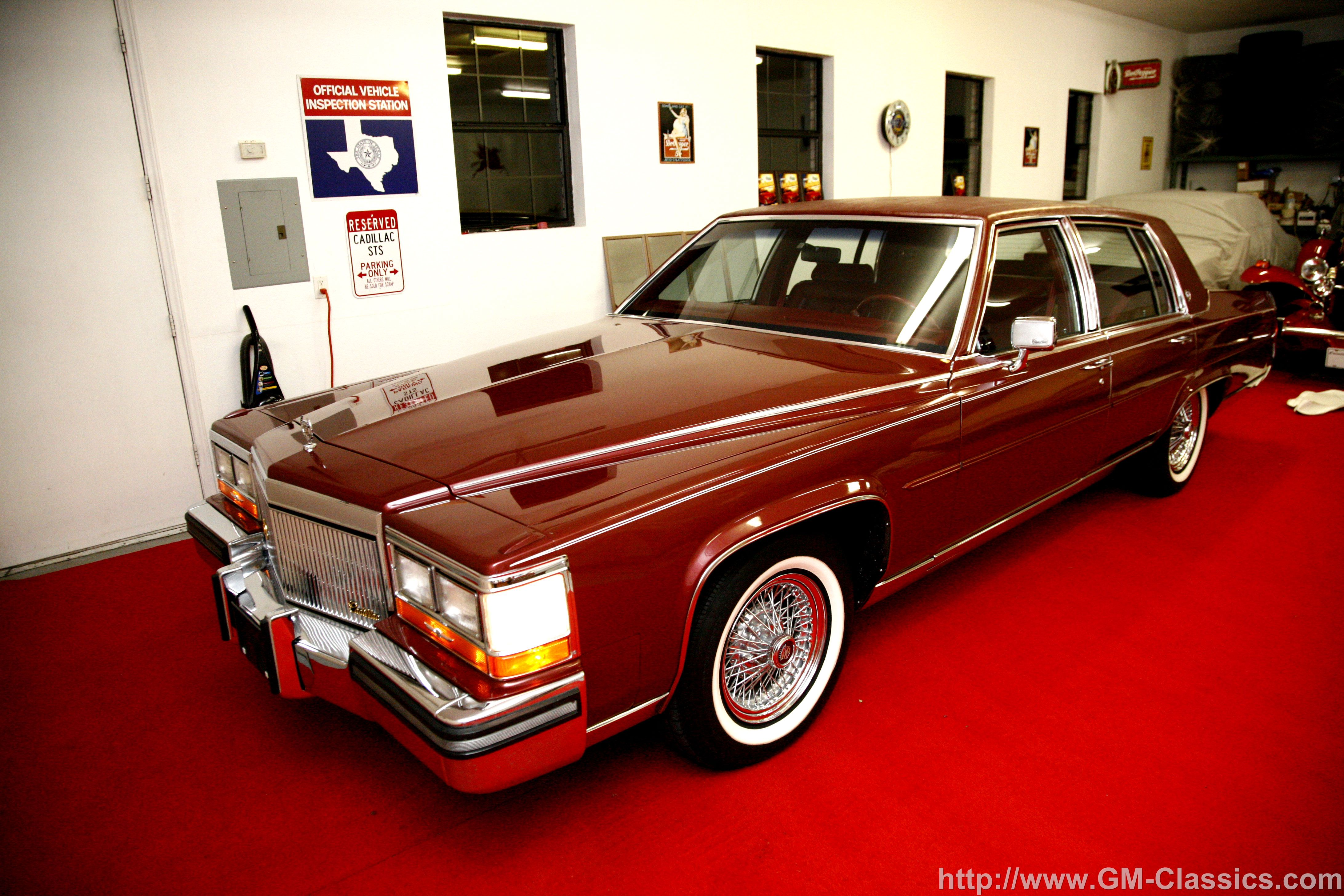 Cadillac Brougham red #2