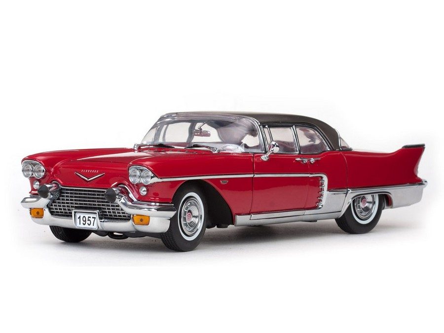 Cadillac Brougham red #3