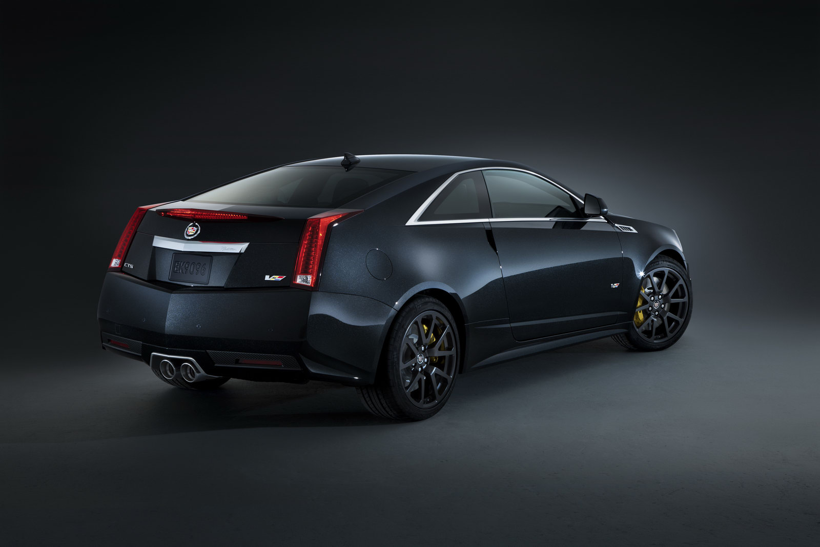 Cadillac CTS Coupe black #1