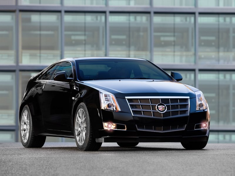 Cadillac CTS Coupe black #2