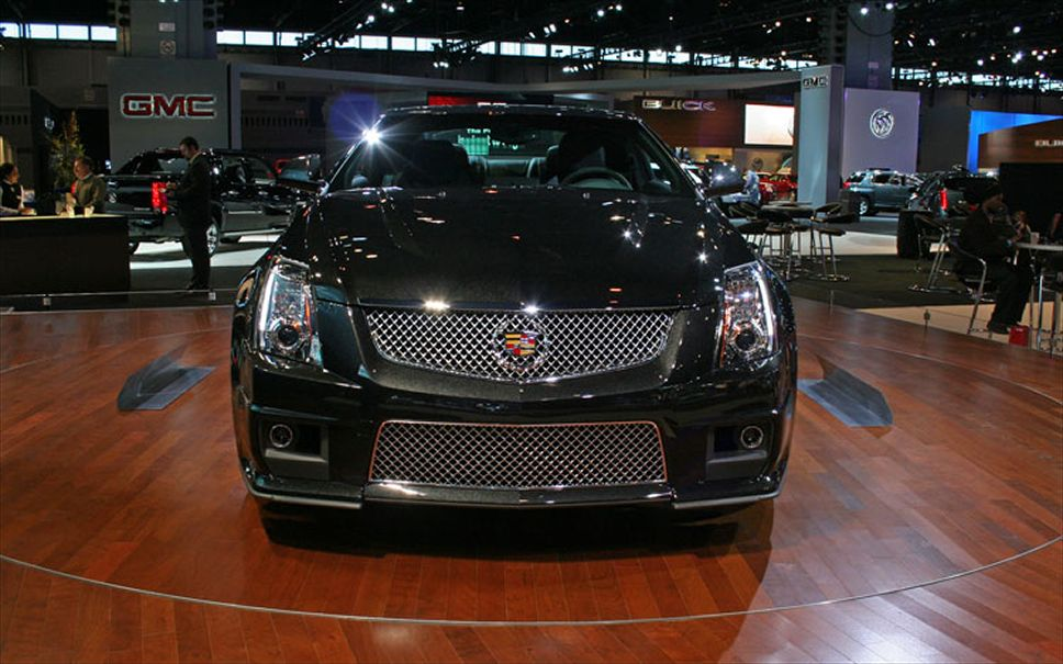 Cadillac CTS Coupe black #4