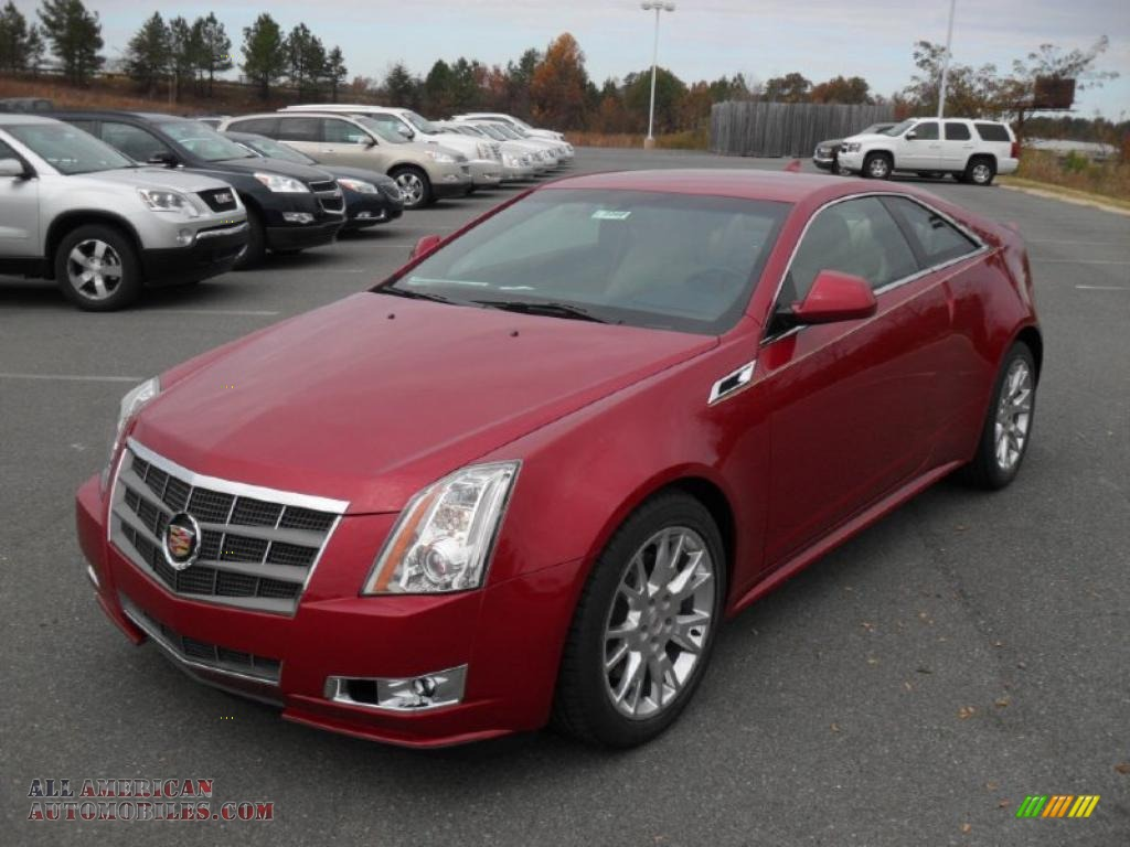 Cadillac CTS Coupe red #3