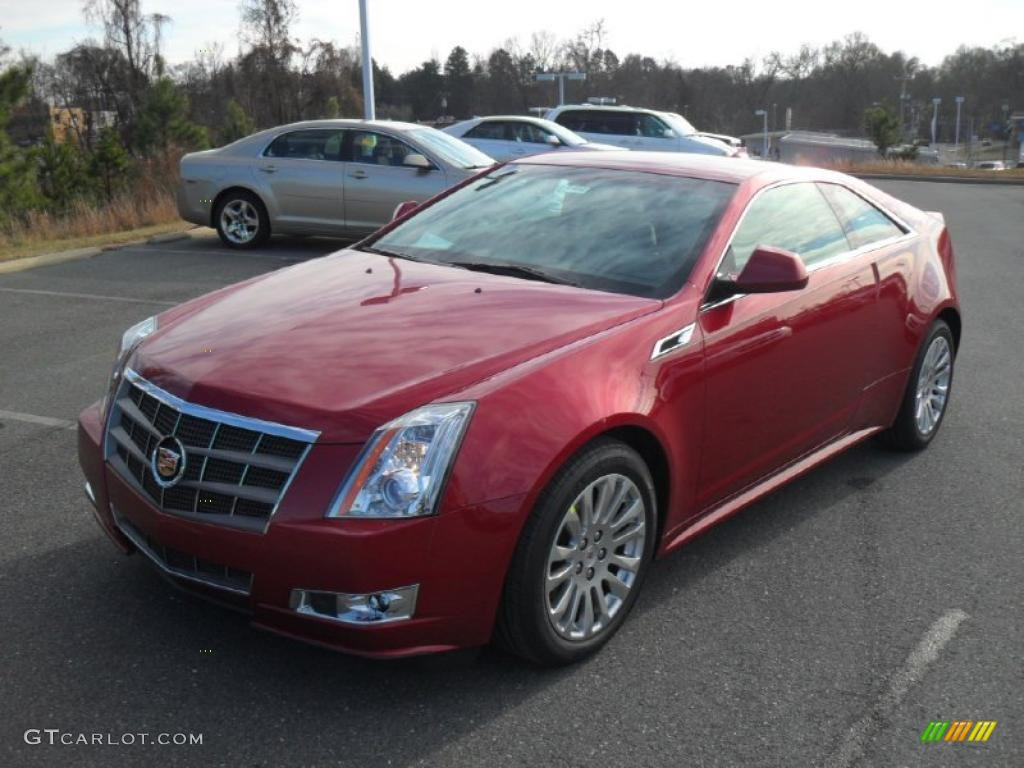 Cadillac CTS Coupe red #4