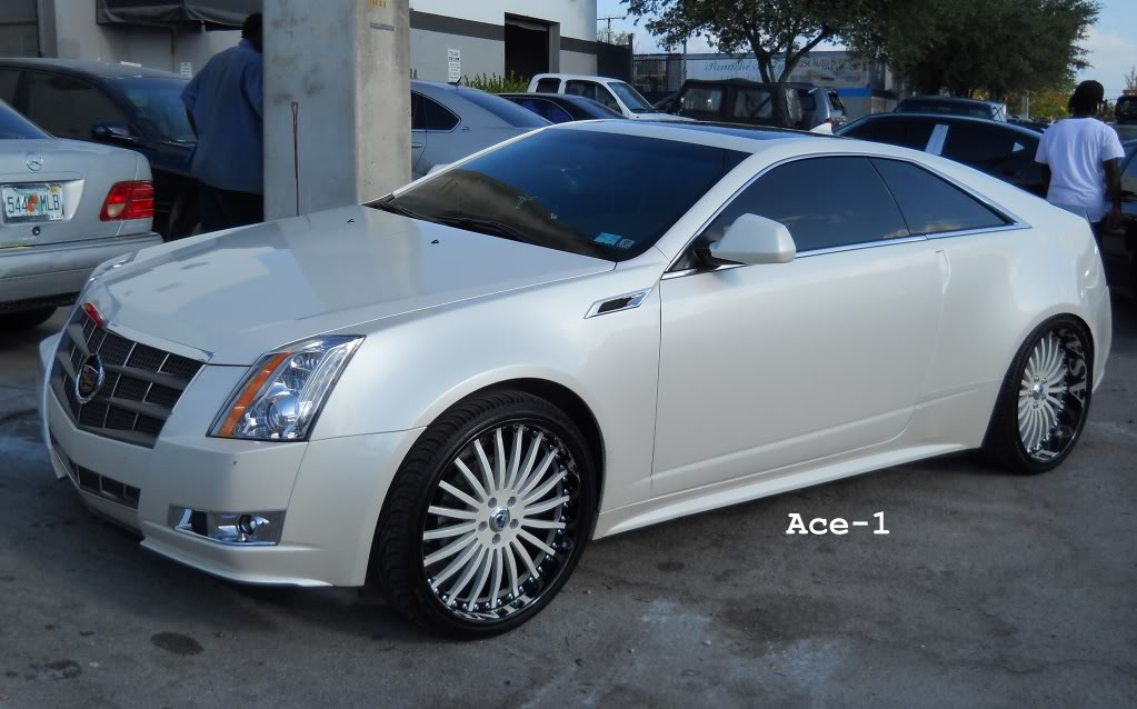 Cadillac CTS Coupe wheels #3