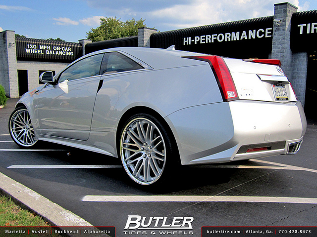 Cadillac CTS Coupe wheels #4