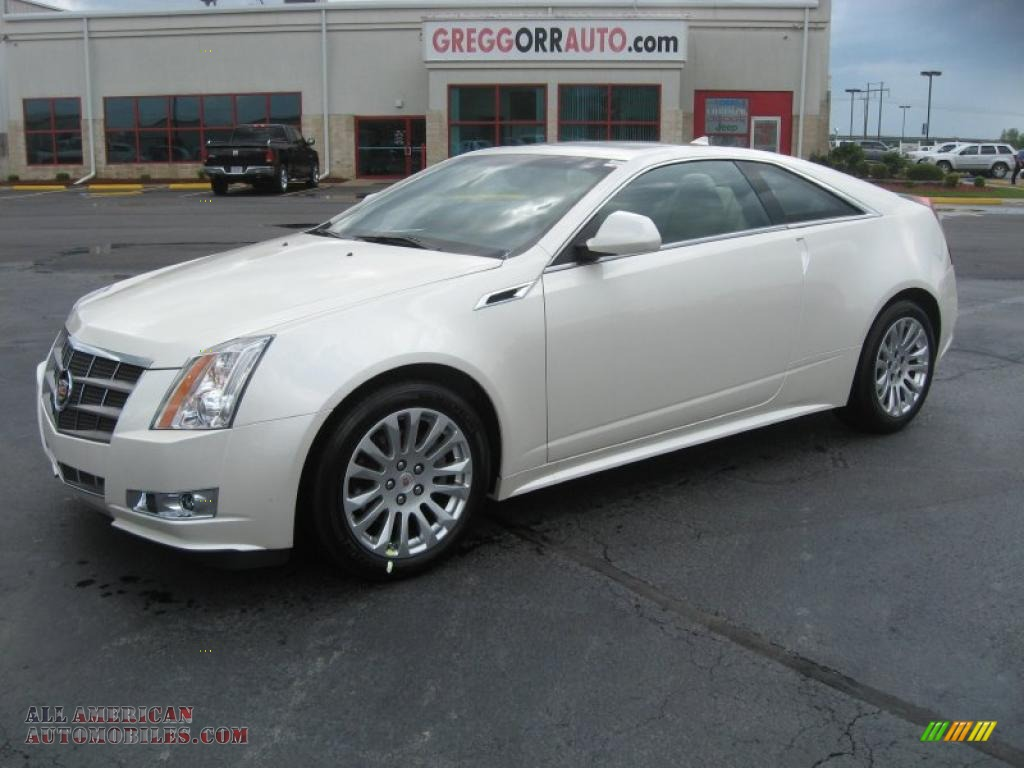 Cadillac CTS Coupe white #4