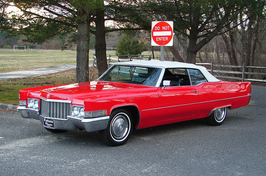 Cadillac DeVille red #2