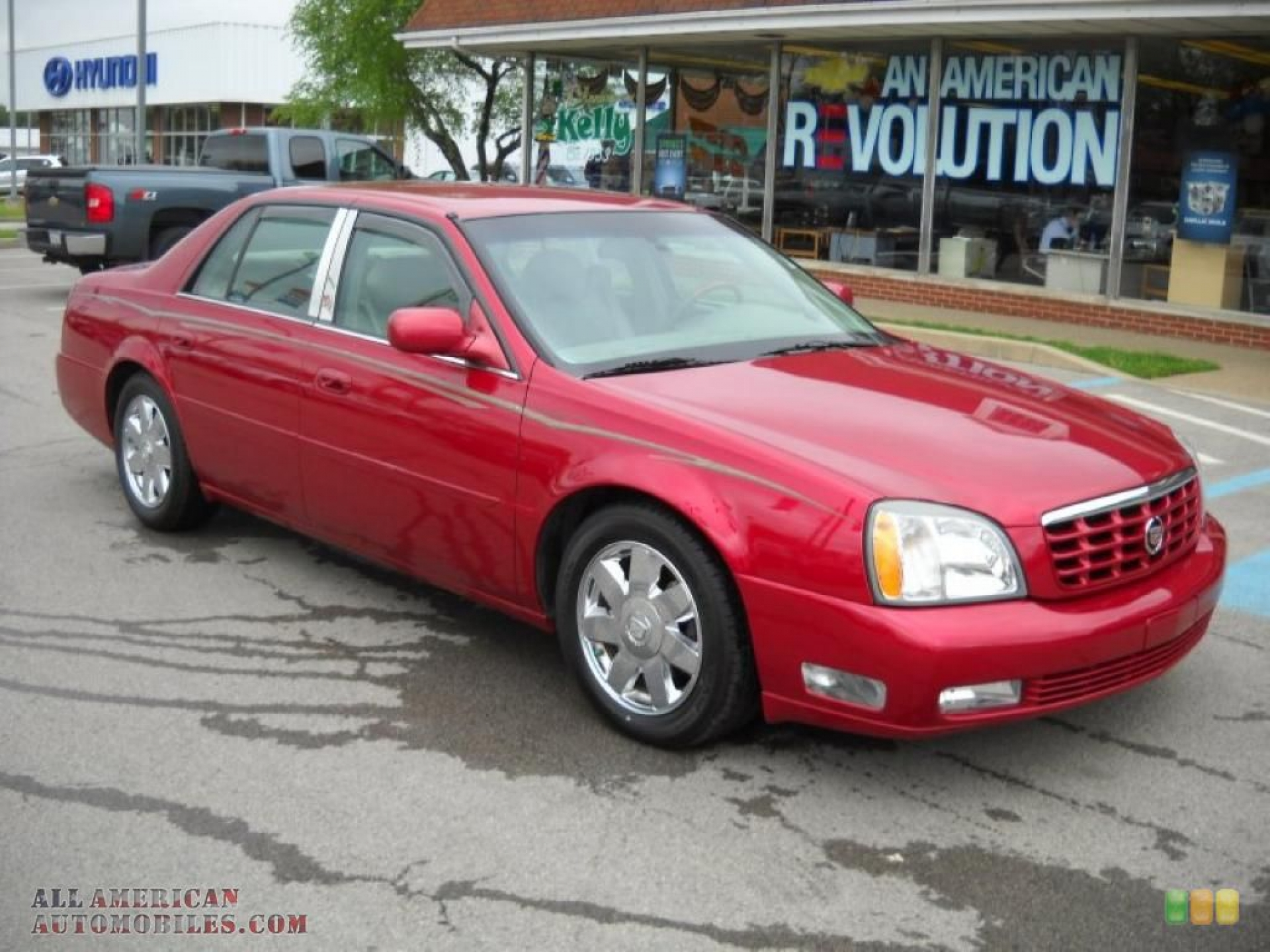Cadillac DeVille red #3