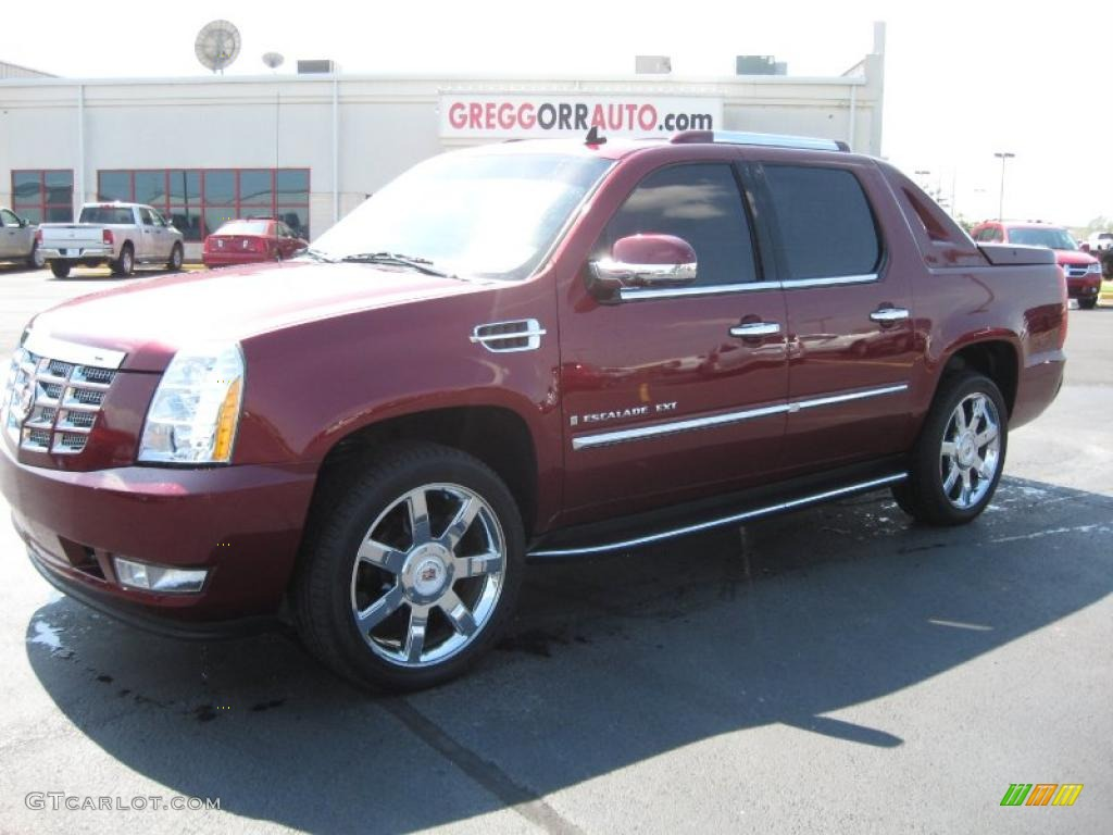 Cadillac Escalade EXT red #2