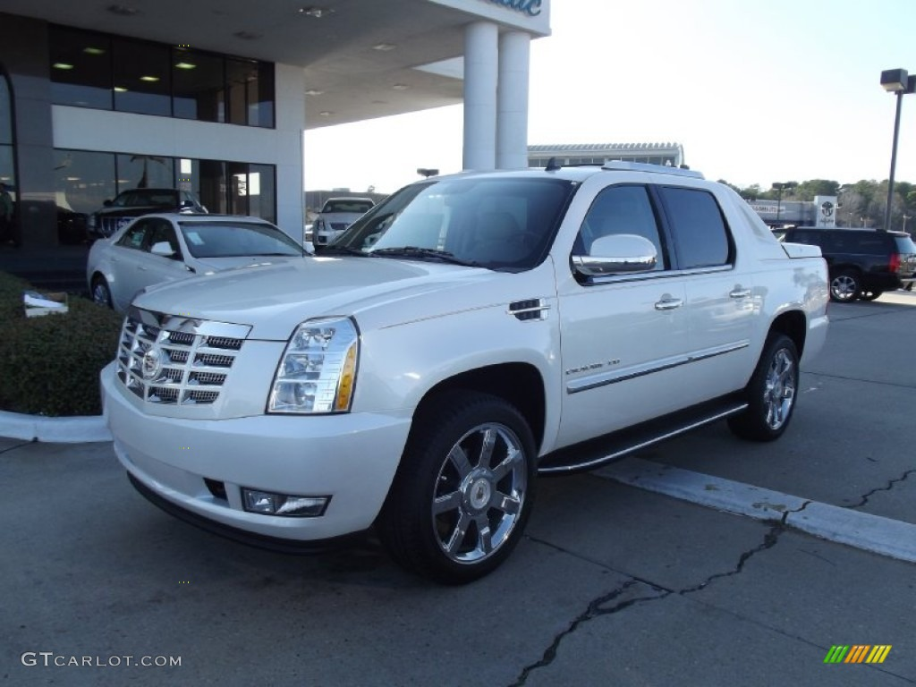 Cadillac Escalade EXT white #2