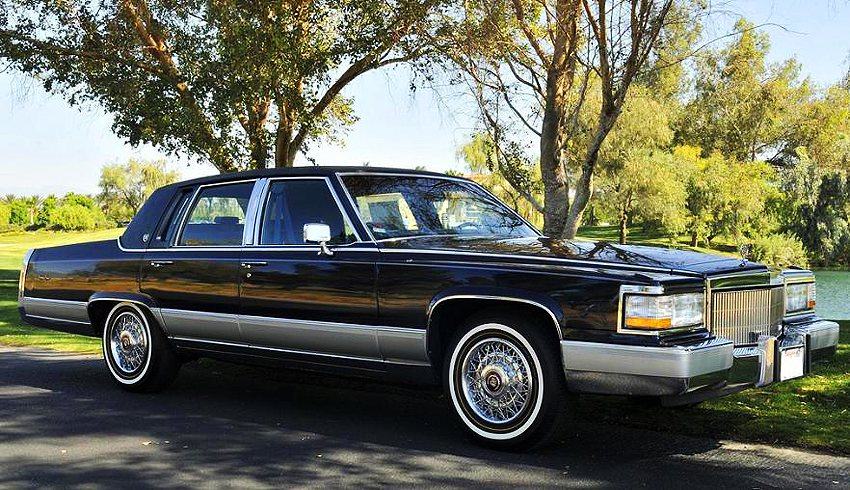 Cadillac Fleetwood black #2