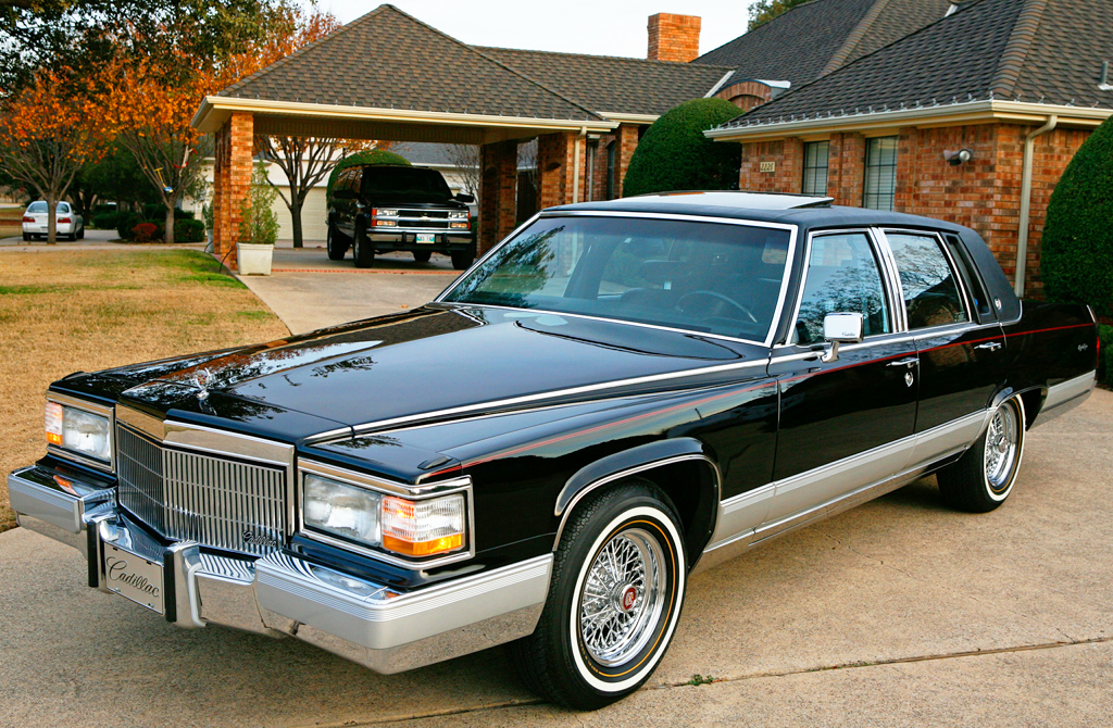 Cadillac Fleetwood black #3