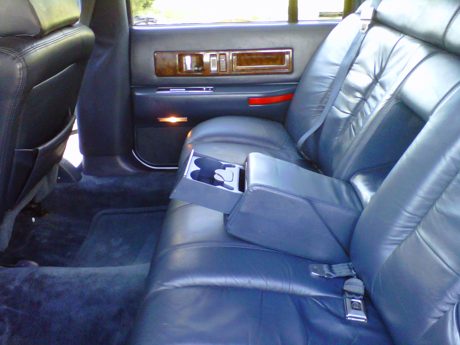 Cadillac Fleetwood interior #1