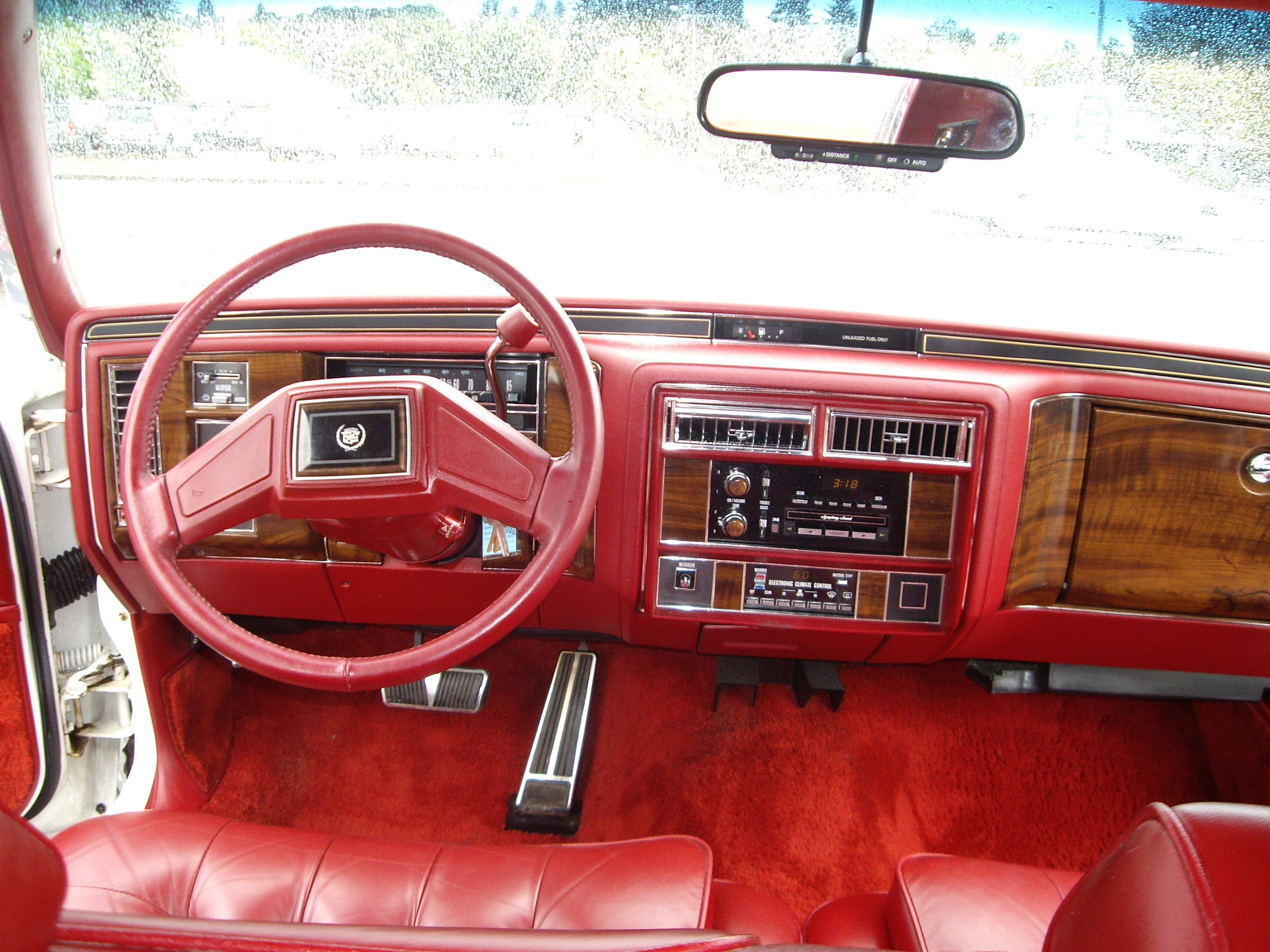 Cadillac Fleetwood interior #2