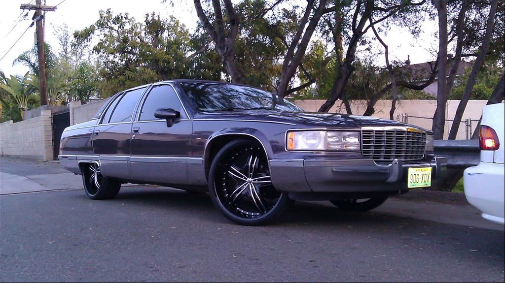 Cadillac Fleetwood wheels #2