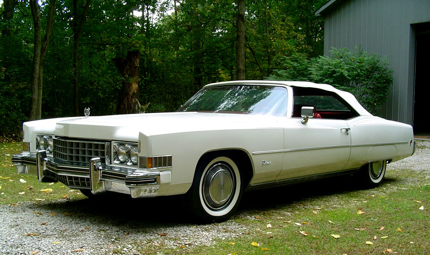 Cadillac Fleetwood white #3