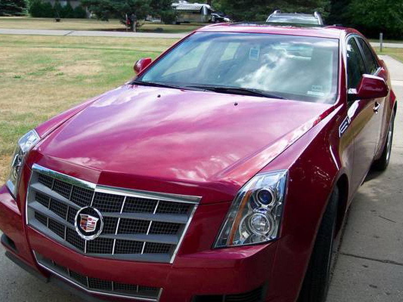 Cadillac red #2