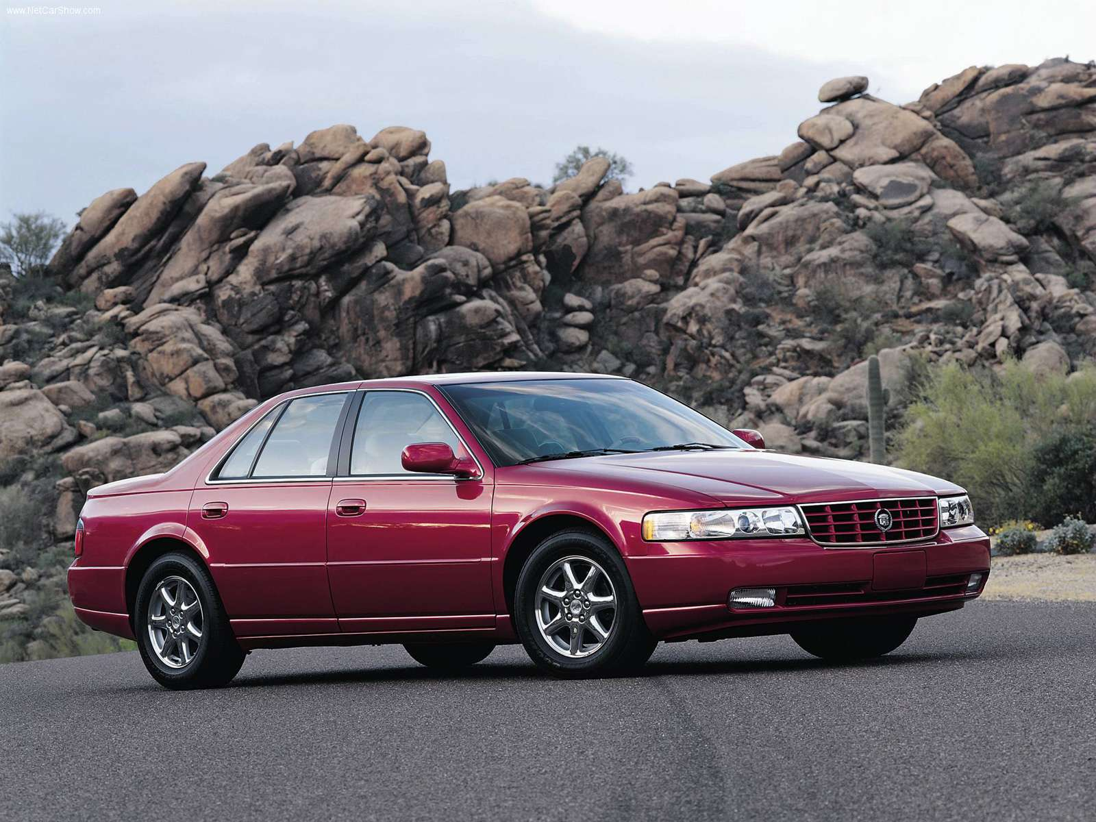 Cadillac Seville red #1