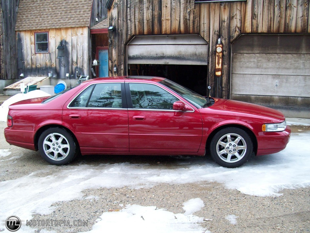 Cadillac Seville red #2
