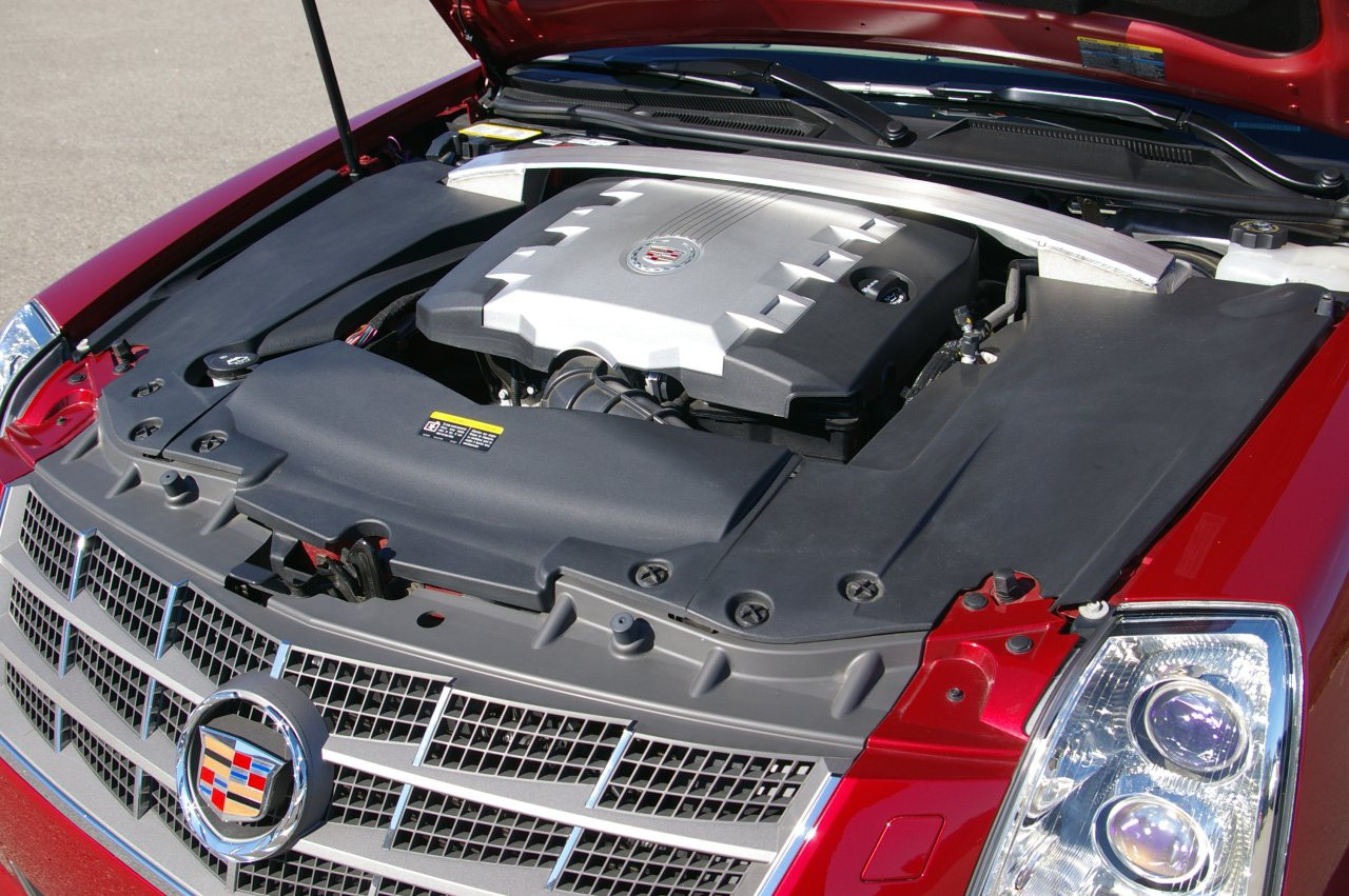 Cadillac STS engine #4