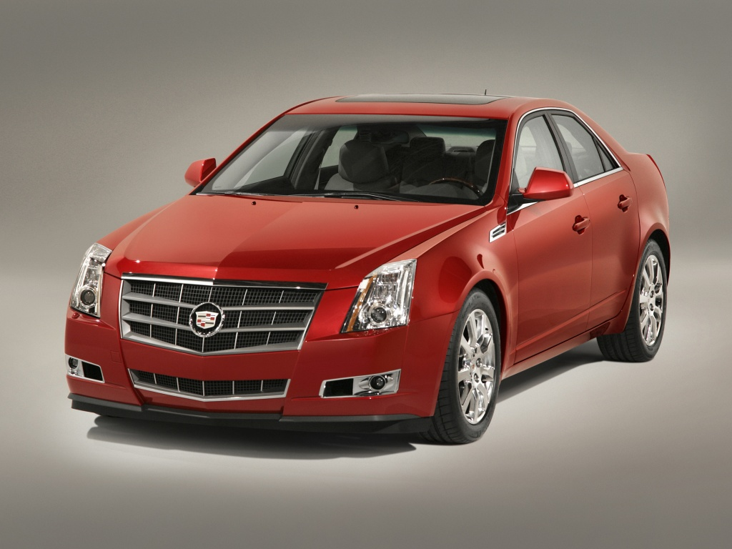 Cadillac STS red #1