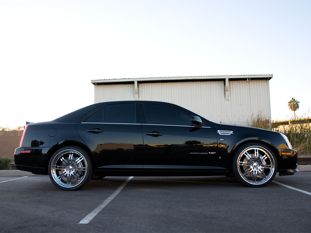 Cadillac STS wheels #4