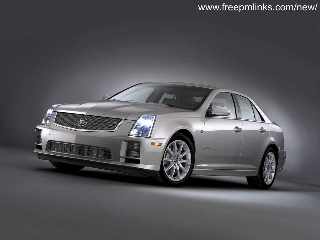 Cadillac STS-V red #2