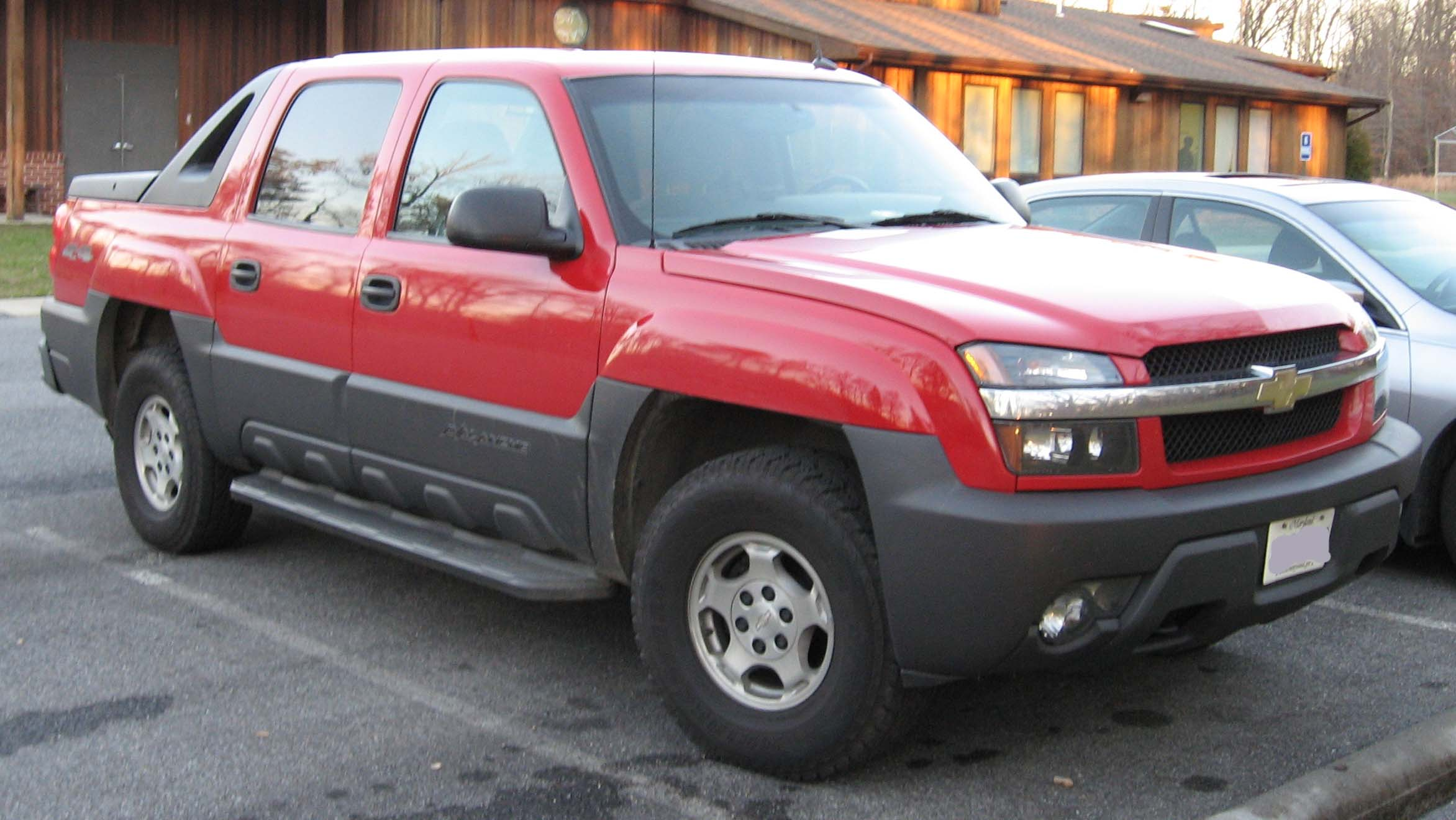 Chevrolet Avalanche red #1