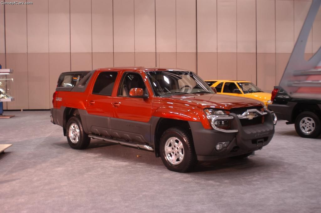 Chevrolet Avalanche red #2