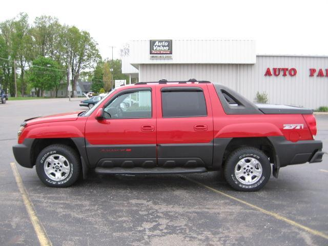Chevrolet Avalanche red #3