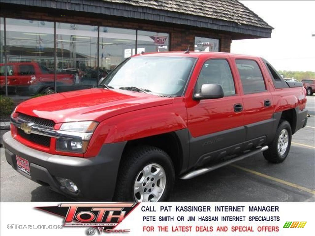 Chevrolet Avalanche red #4