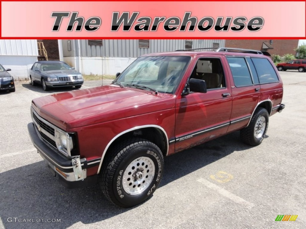 Chevrolet Blazer red #2