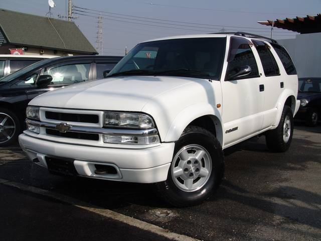 Chevrolet Blazer white #3