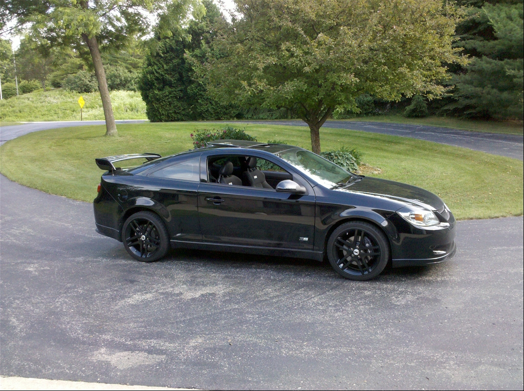 Chevrolet Cobalt black #1