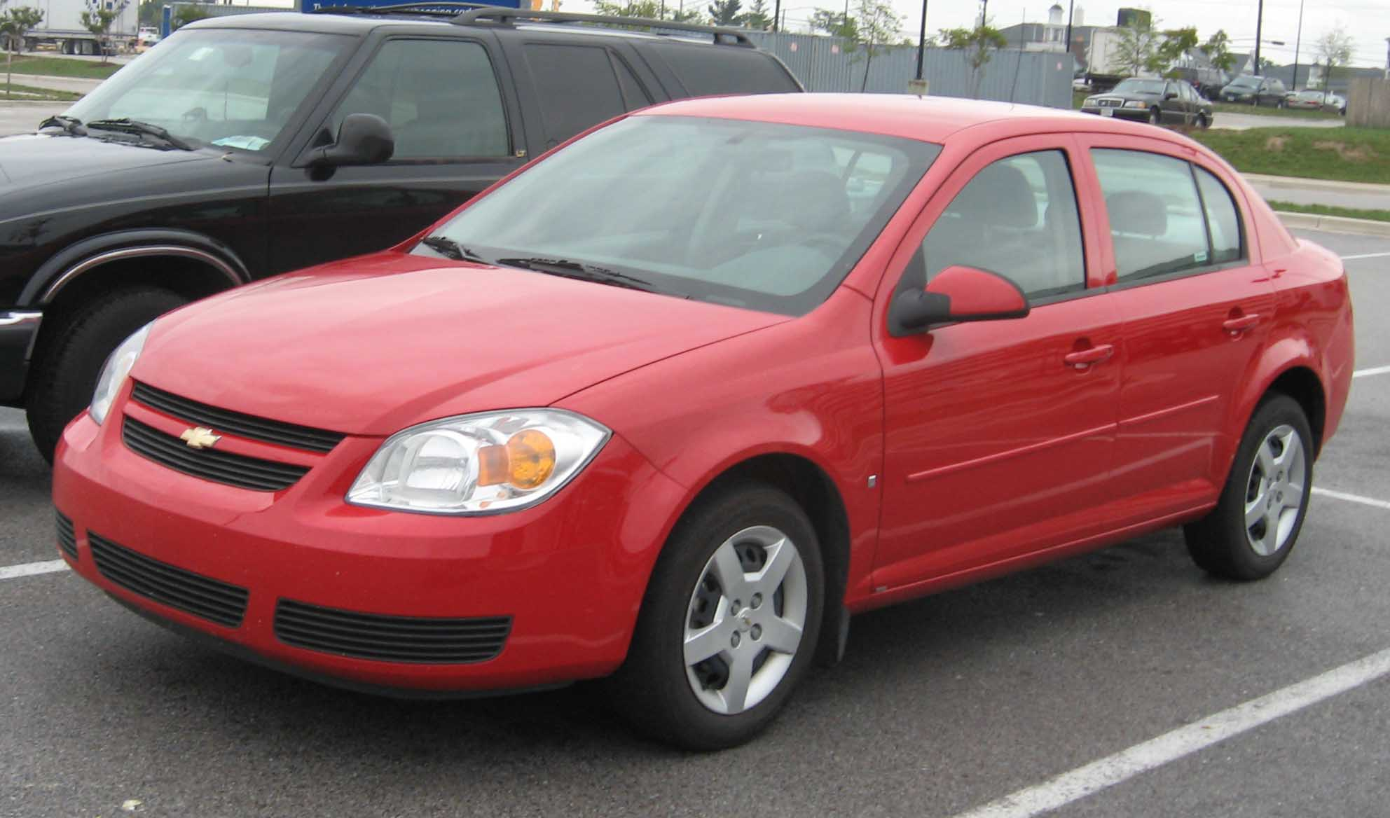 Chevrolet Cobalt red #1