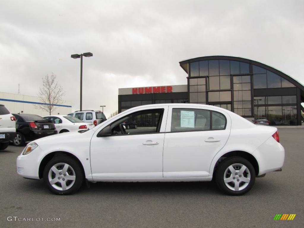 Chevrolet Cobalt white #1
