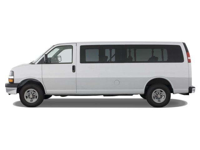 Chevrolet Express red #2