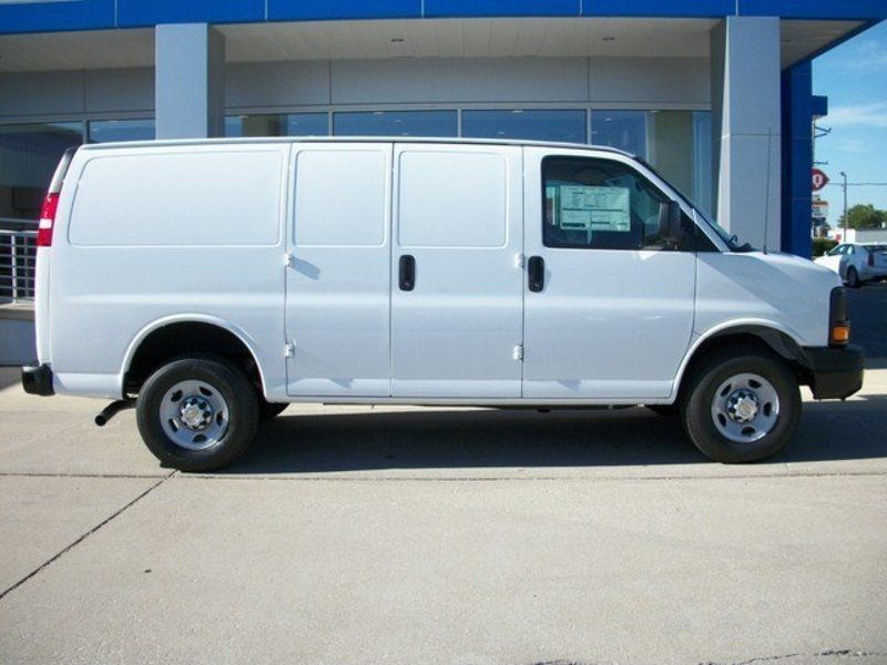 Chevrolet Express red #3