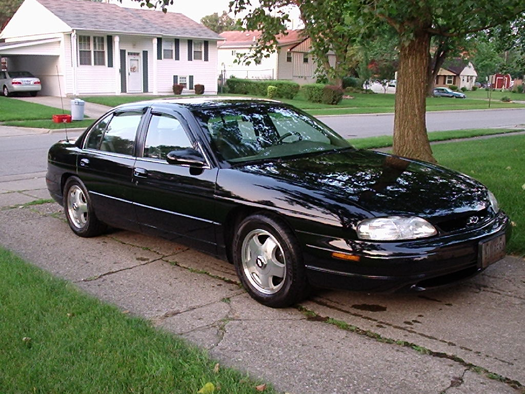 Chevrolet Lumina black #2