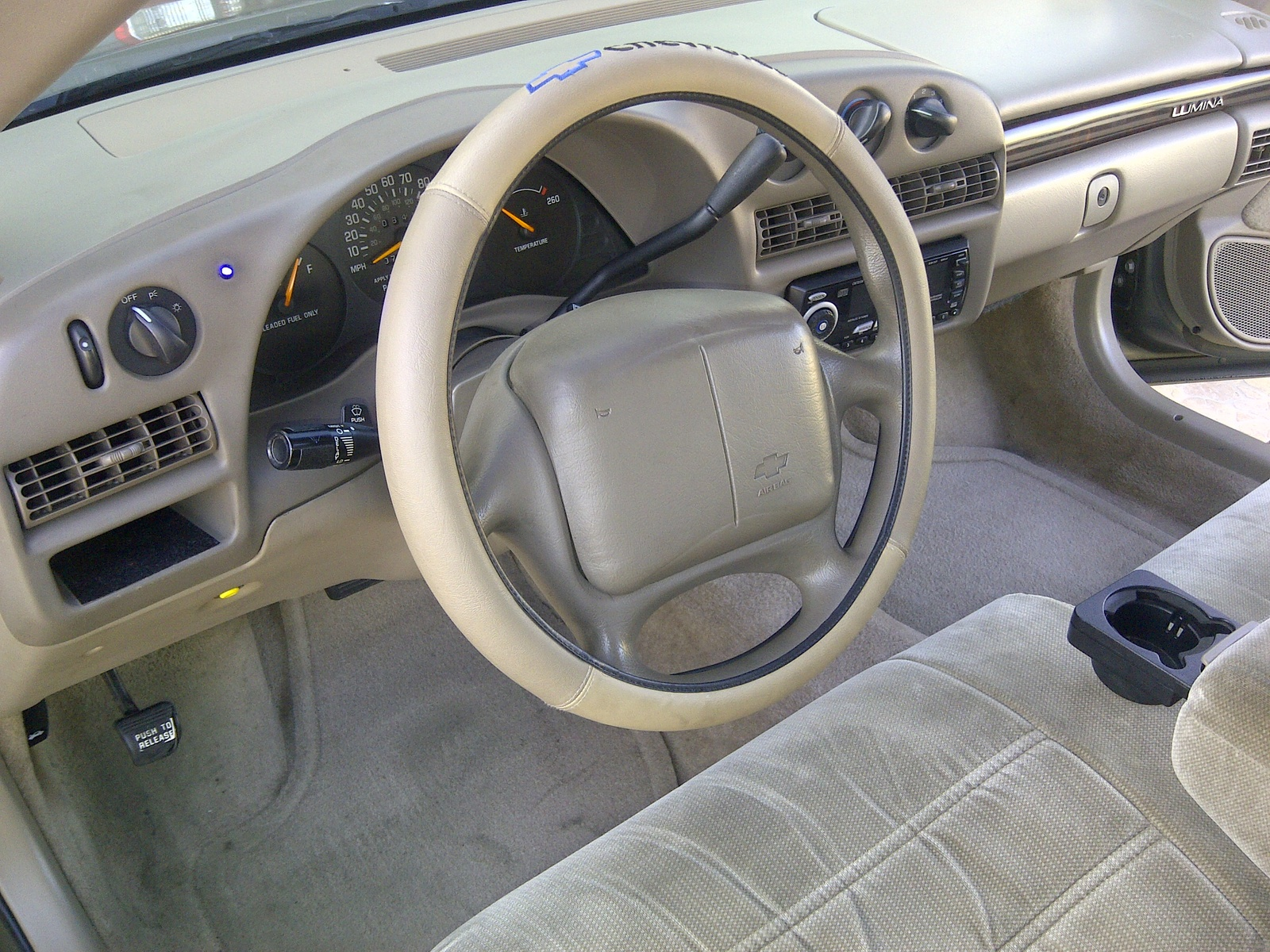 Chevrolet Lumina interior #1
