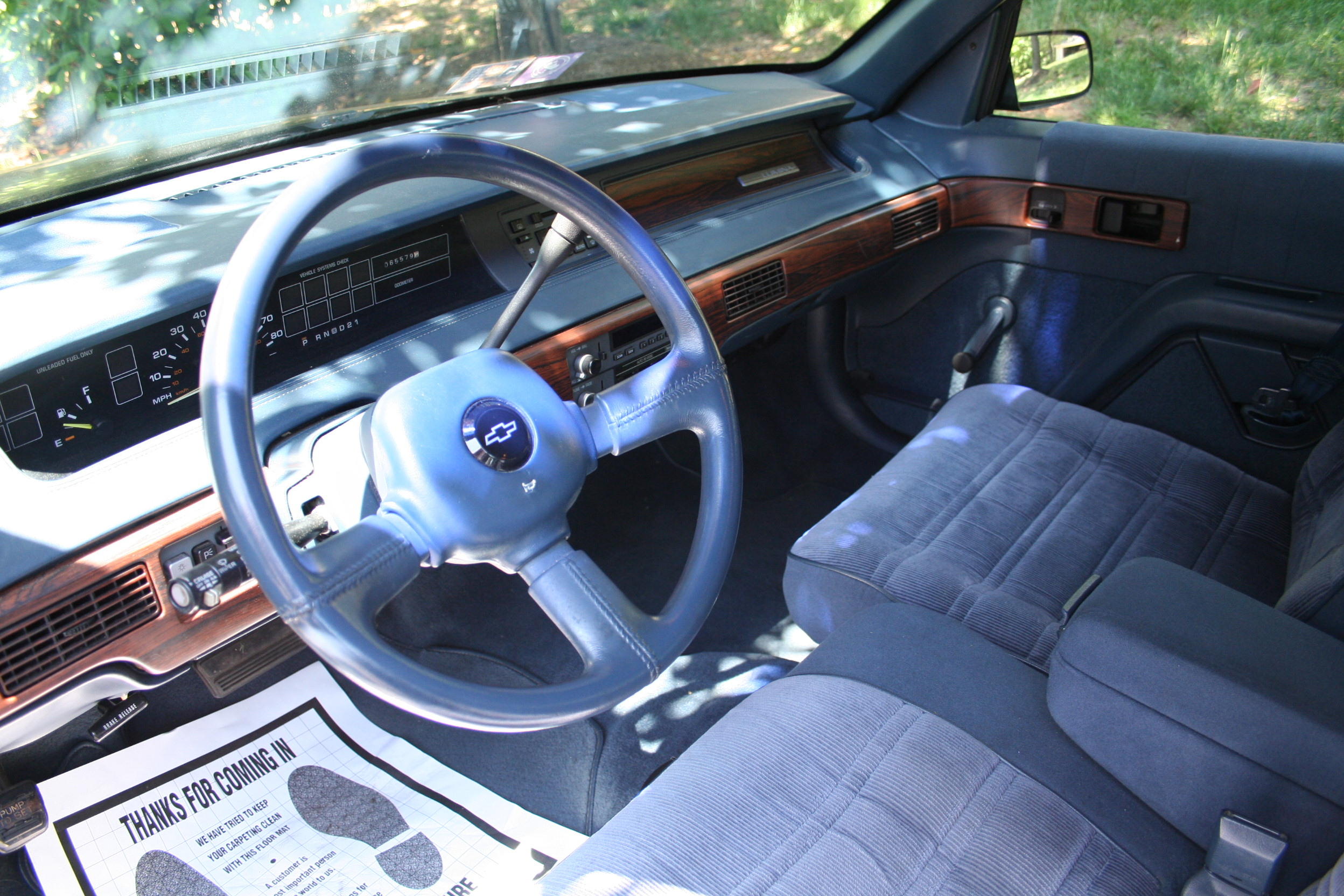Chevrolet Lumina interior #3