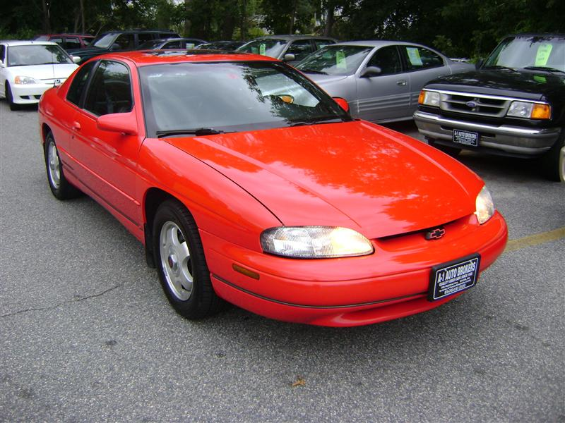 Chevrolet Monte Carlo red #1
